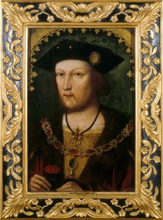 King Henry VIII (1491-1547) This earlier image, by contrast, was not painted to commemorate the strength and triumphs of the Tudor dynasty but to record a truthful likeness of the young king. It shows Henry just after he had started to grow a beard, which seems to have caused some comment.