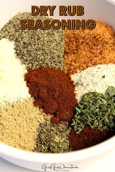 Dry Rub Seasoning -This dry rub seasoning is great to use when barbecuing beef, pork or chicken. Rub on meat that is fried, baked or put into the crock pot.