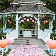 8 Ways to Decorate the Rose Court Garden Gazebo // Budget Fairy Tale