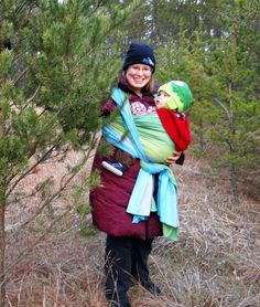 12701c315 32 Best Cold Weather Babywearing images