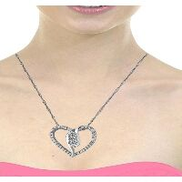 Product Name:2BeLoved Diamond Heart Necklace in 10K White Gold - PH0441-A9710W Price:399.70 https://www.riddlesjewelry.com/2beloved-diamond-heart-necklace-in-10-kt-white-gold-ph0441-a9710w.html