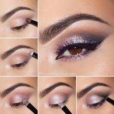 maryam maquillage princesse pourpre tutoriel maquillage romantique - Tuto Maquillage Mariage