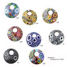 Ercole Moretti pendants on YourMurano.com http://www.yourmurano.com/en/jewellery/pendant-murano-jewellery/klimt.html