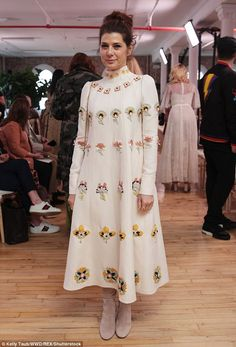 Marisa Tomei at the Valentino Resort 2018 show in New York City on May 23, 2017