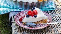 Mascarpone-marjatorttu - K-ruoka Cheesecake, Goodies, Pie, Pudding, Sweets, Desserts, Food, Mascarpone, Sweet Like Candy