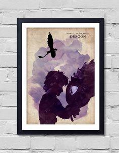 Comment former votre DRAGON. Affiche par POSTERSHOT sur Etsy