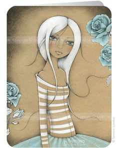 In the garden - Eclectic Cards - Greeting cards from Santoro London