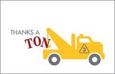 thank you Construction theme