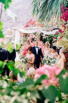 Abbie + Malik  O'Donnell House, Palm Springs Wedding / Florals: The Bloomin Gypsy / Photo's: Hailley Howard