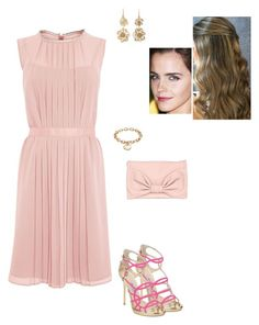 """""""Sem título #2507"""" by gracebeckett on Polyvore featuring Jimmy Choo, RED Valentino, Blue Nile and Judy Geib"""