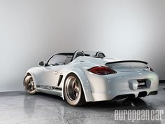 Throwback to the Porsche Boxster a soft top that even serious drivers would consider owning Boxster Spyder, Porsche Boxster, Cars Vintage, Vintage Porsche, Custom Porsche, Porsche Cars, Cylinder Liner, Ferdinand Porsche, Cool Sports Cars