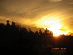 Sonnenaufgang bei -2°C