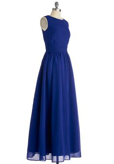 Dream Evening Dress in Sapphire | Mod Retro Vintage Dresses | ModCloth.com