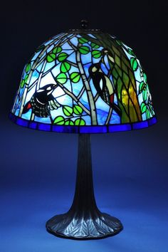 Tiffany Lamp Shade, Tiffany Lamps, Stained Glass Lamps, Stained Glass Patterns, Karuizawa, Lamp Light, Boxes, Table Lamp, Shades