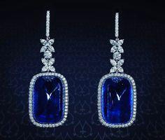 Stone Earrings, Diamond Earrings, Drop Earrings, Dressing Room Design, Color Stone, Sapphire, Jewelry, Jewelery, Dress