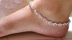 Imgs For > Silver Anklets For Baby Girls Payal Designs Silver, Silver Anklets Designs, Silver Payal, Anklet Designs, Gold Earrings Designs, Necklace Designs, Fancy Jewellery, Stylish Jewelry, Jewellery Display