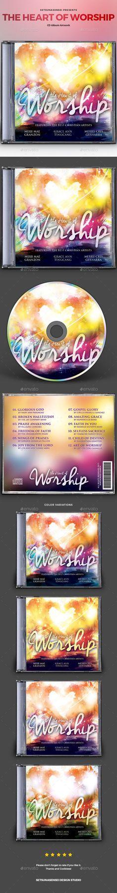 The Heart of Worship CD Album Artwork