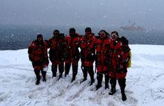 Día antártico para despedir a los científicos que marchan tras acabar la 1ª fase de la campaña