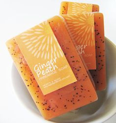 ginger-peach-soap- I would love the smell.