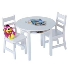 Solutions by Kids R Us Table and Chair Set - White | Child\'s Room ...