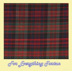 MacDonald Modern Tartan Dupion Silk Plaid Fabric Swatch  by JMB7339 - $40.00