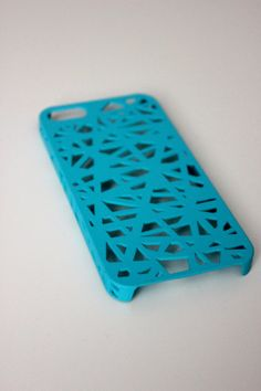 Blue Bird Cage iPhone 5s Case by trompo on Etsy, $9.95