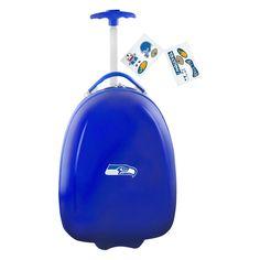 NFL Seattle Seahawks Mojo Kids Luggage Pod - Navy