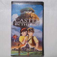 Castle in the Sky Anime Movie VHS Hayao Miyazaki by TntbrbefanDolls #anime #miyazaki #vhs #clamshell #animemovie