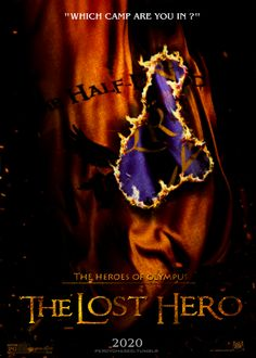 cool Lost Hero poster