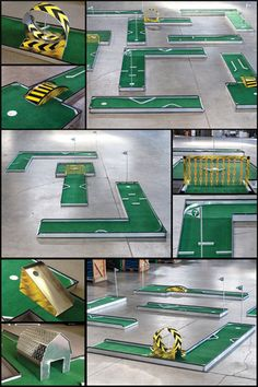 Premium 9 Hole Mini Golf - Milco, Inc., Manufacturer of Portable Aluminum Mini Golf Courses, portable glow golf putt putt, and individual miniature golf holes for sale! Putt Putt Golf, Miniature Golf, Educational Games, Poker Table, Golf Courses, Miniatures, Kids, Crafts, Home Decor