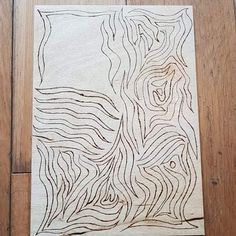 Wood Burning Hand Drawn Pyrography, Wood Burning, Animal Print Rug, Hand Drawn, How To Draw Hands, Rugs, Animals, Home Decor, Animales