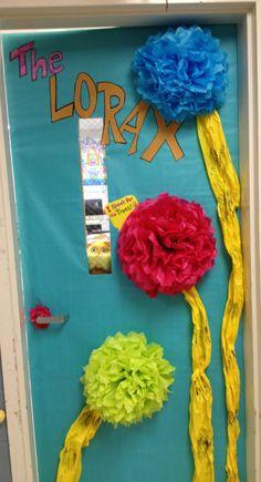 dr. suess classroom doors | Lorax, dr. Seuss, classroom door