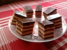 Sport szelet Hungarian Recipes, Hungarian Food, Tapas, Waffles, Food And Drink, Candy, Diet, Cookies, Chocolate