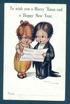 Flora White postcard *