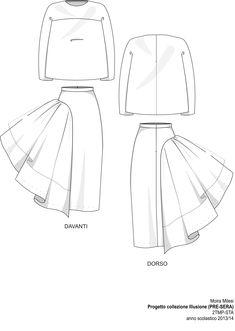 weirdly interesting Technical Sheet 5. Evening Fashion Show STA 2014