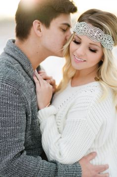 Winter Couples/Engagement Session - Kristyn Harder Photography