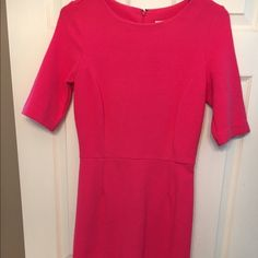 Merona XS pink 3/4 sleeve dress Excellent used condition- no flaws! Merona Dresses Long Sleeve