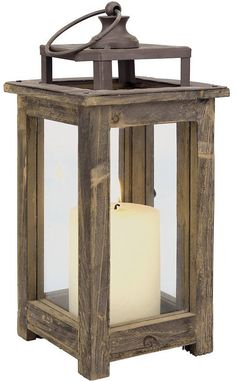 Stonebriar Collection Rustic Lantern