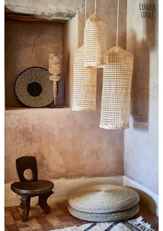 Fishcage Bamboo Lampshade - New Home Interior Design, Interior Styling, Interior Decorating, African Room, African Interior, Pottery Painting Designs, Brass Lamp, Nature Decor, Lampshades