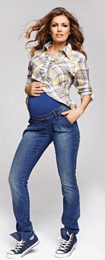 Amore jeans, jeansy ciążowe Pregnancy Jeans, Maternity Jeans, Pants, Fashion, Trouser Pants, Moda, Fashion Styles, Women's Pants, Women Pants