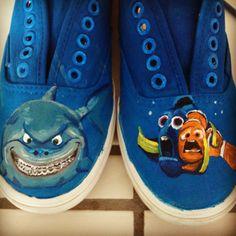 """""""Hello…"""" Awesome Nemo shoes!!"""
