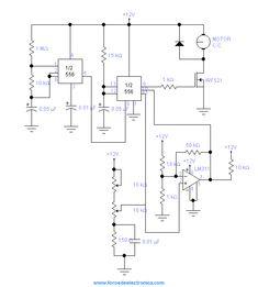 Control De Velocidad PWM Para El Control De Motores De CC