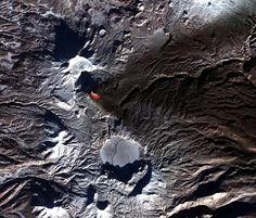 Karymysky volcano eruption, 2006