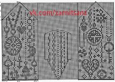 "Вязание. Жаккард - ""Зимняя радуга"" Knitted Mittens Pattern, Knit Mittens, Knitted Gloves, Knitting Charts, Knitting Patterns, Crochet Patterns, Fair Isle Knitting, Double Knitting, Beading Patterns"
