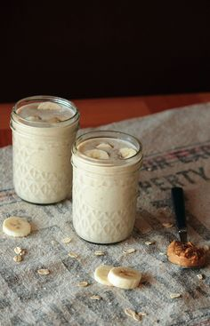 Banana Peanut Butter Protein Smoothie by pastryaffair