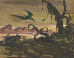 80 years ago today, Fantasia was released in theaters! Get a closer look at production artwork from the film, courtesy of the Walt Disney Animation Research Library. Walt Disney Animation, Behind The Scenes, Photo And Video, Film, Closer, Artwork, Painting, Instagram, Videos