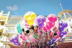 Disneyland Balloons <3