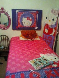 Hello Kitty Headboard