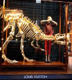 Louis Vuitton & Dinosaurs