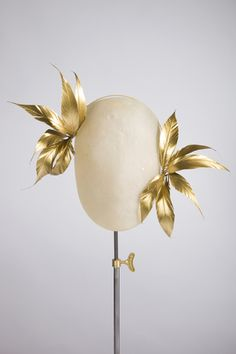 Starburst in gold - Rachel Black Millinery
